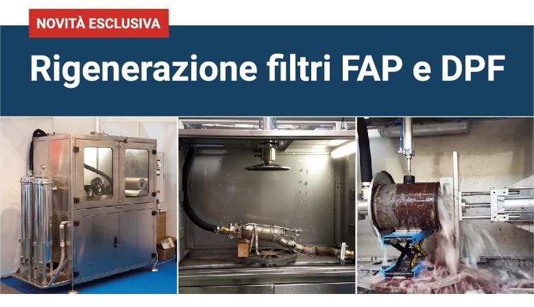 Rigenerazione filtri FAP e DPF
